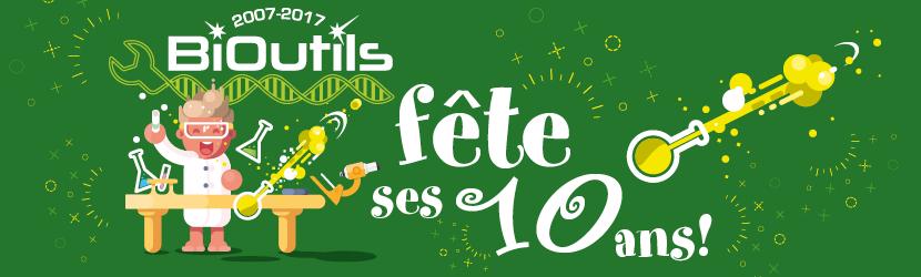 BiOutils fête ses 10 ans!