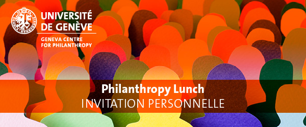 Philanthropy Lunch - Personal Invitation