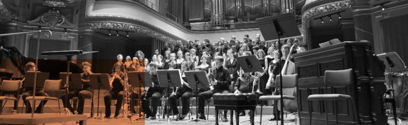 Choeur de l'Université, concert au Victoria Hall, mai 2019