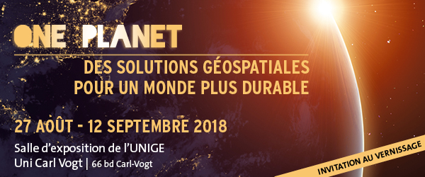 One Planet. Many Geospatial Solutions.                            des solutions géospatiales pour un monde plus                            durable